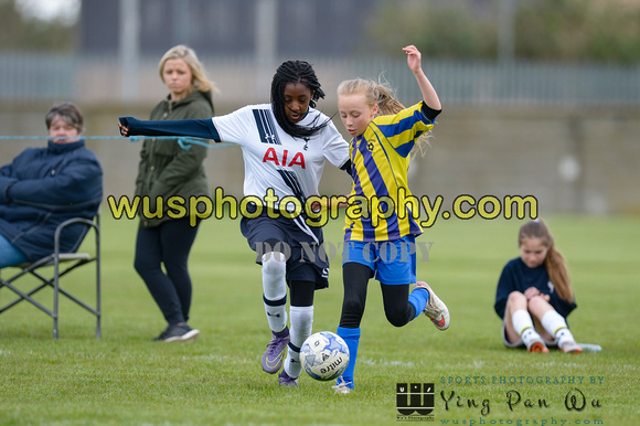 20160430-125753-3 Tottenham Hotspur Girls U11 v Harvesters FC Girls U11