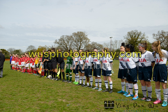20160410-125613 Tottenham Hotspur Girls U16 Whites v Charlton Athletic Girls U16