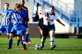 Tottenham Hotspur Girls U16 Whites v Kent Football United U16 2015-10-31