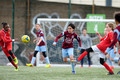 Islington Girls White U12 v Ruislip Rangers Girls Clarets U12 2016-04-16