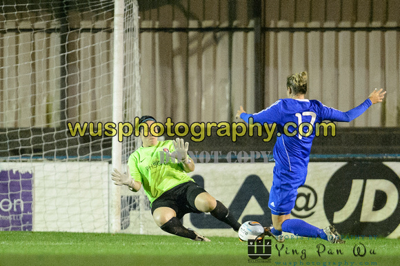 20151021-203405-3 Billericay Town Ladies FC v Charlton Athletic Women's FC