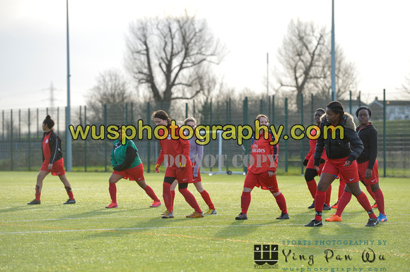 20160110-135314 Islington Borough v Wealdstone Ladies Reserves