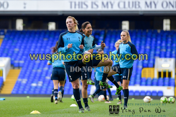 20170419-181955 Tottenham Hotspur Ladies FC v West Ham United Ladies FC at White Hart Lane