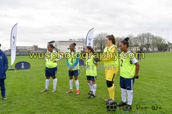 5609d460f97 20180407-093952 Tottenham Hotspur Girls U13 v United Soccer Academy Mount  Pleasant 04-05