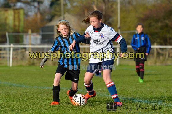 Wu\'s Photography | Denham United Girls U12 v Letchworth Garden City ...