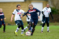 Denham United Girls U10 v Tottenham Hotspur Girls U10 2015-12-12